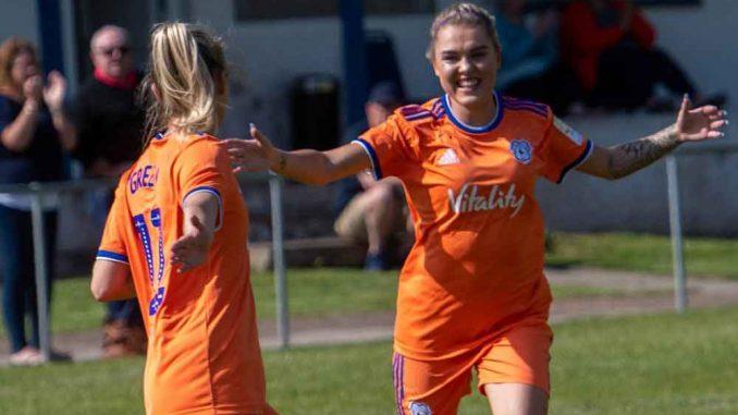Cardiff City FC Women score seven