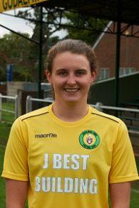Goadalming Town's six-goal Becky Munro