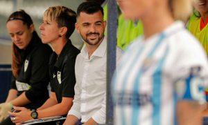 Málaga CF coach Antonio Contreras