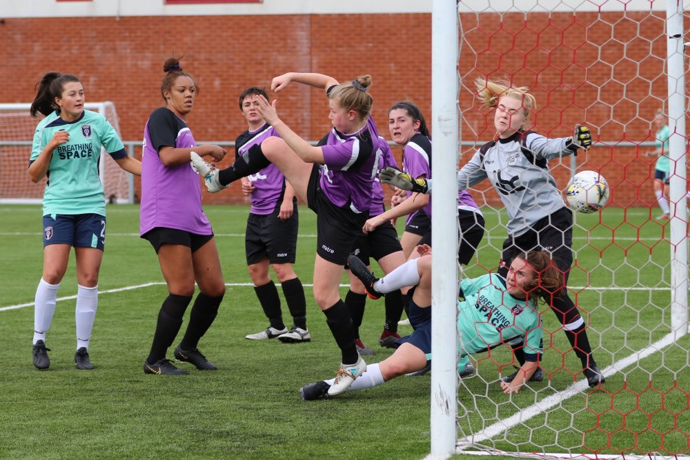 Glasgow City's four-goal Kirsty Howat