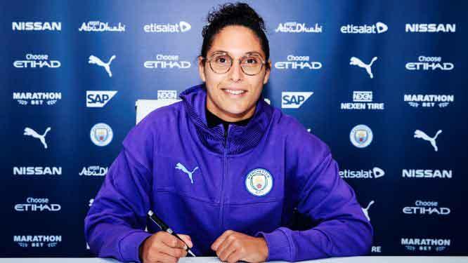 Man City's new signing, Karima Benameur