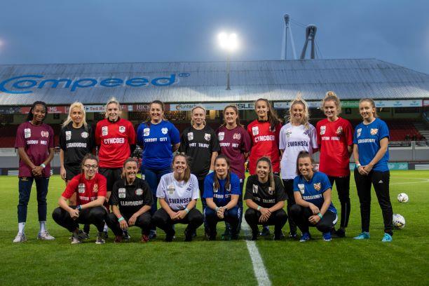 Welsh Premier Women's league player group