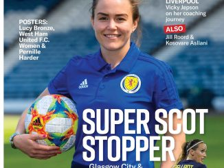 Issue 56 cover featuring Scotland's No. 1 Lee Alexander