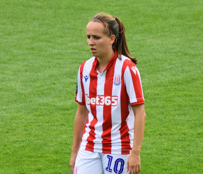 Stoke City's Alison Hall