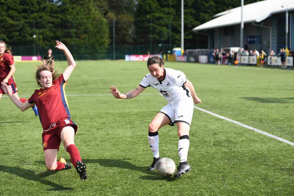 Swansea City won at Cardiff Met