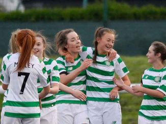 Celtic Academy Girls ceklebrate