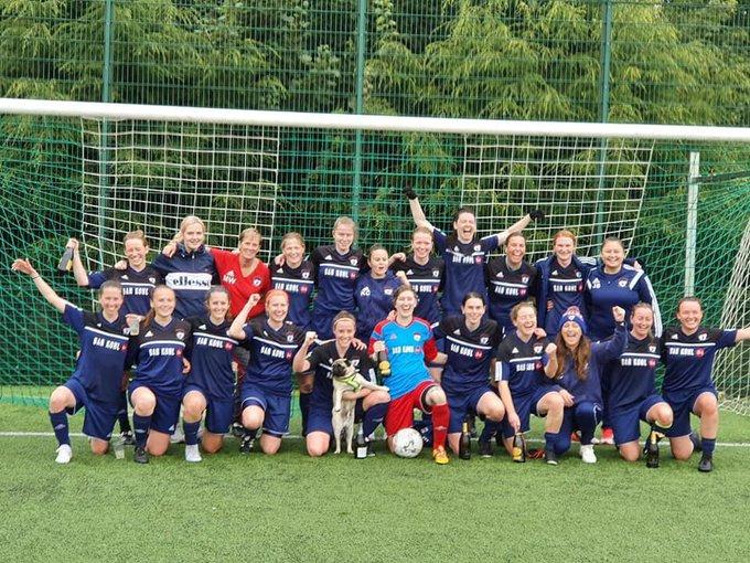 edinburgh caledonia won SWFL2 South/East Central title