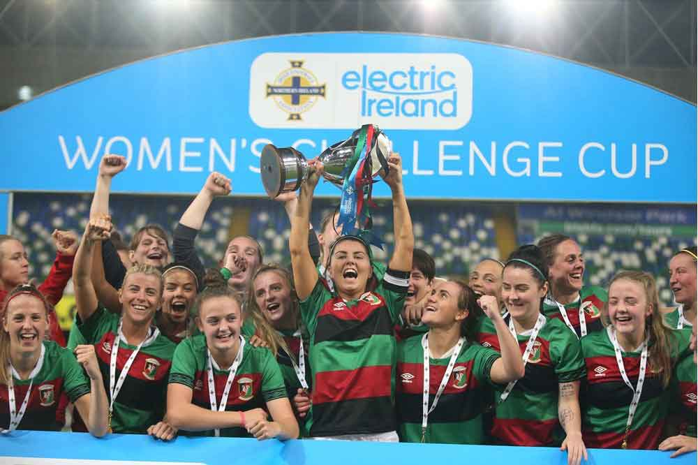 Electric Ireland Cup winners, Glentoran
