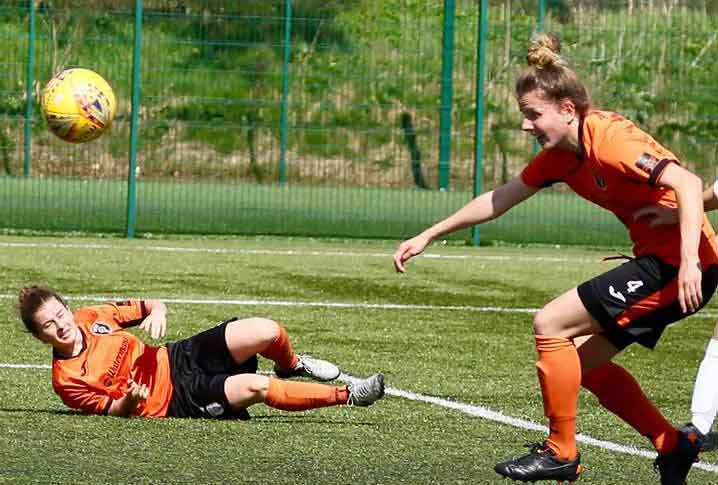 Glasgow City scorer, Hayley Lauder