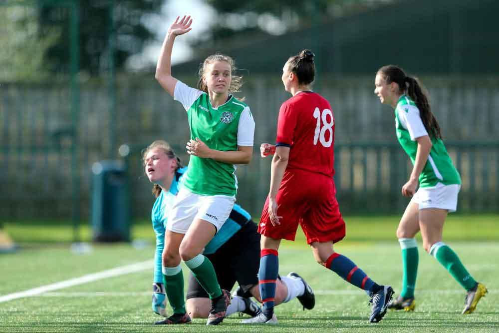 Hibs U-23 score against Renfrew