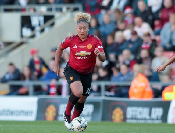 Man Utd's fist WSL goal was scored by Lauren James