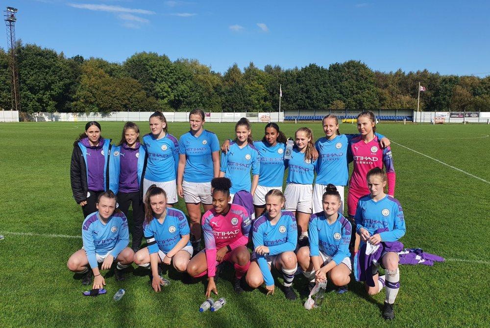 Manchester City U-16's beat Doncaster Rovers Belles