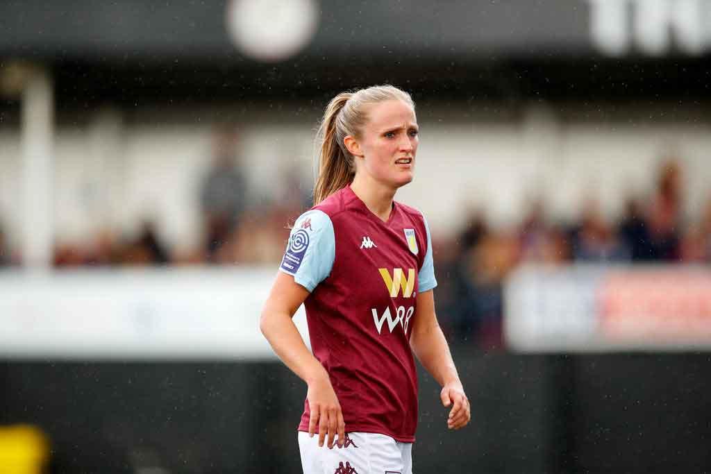 Marisa Ewers of Aston Villa