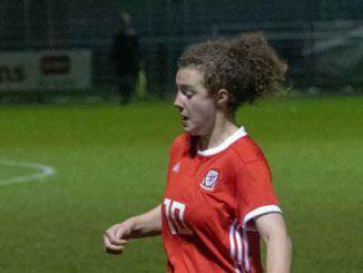 Mary McAteer, Wales U17 goalscorer