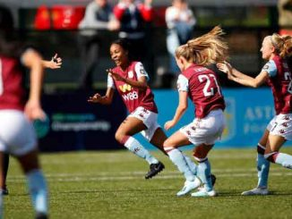 Aston Villa's three-goal Melissa Johnson