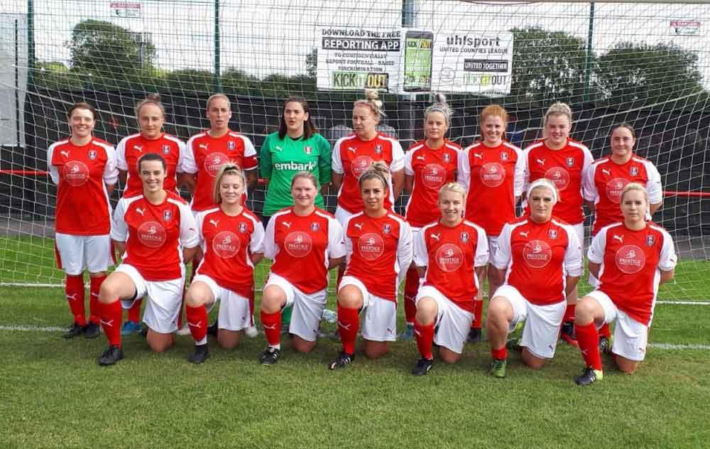 East Midlands League leaders, Rotherham United