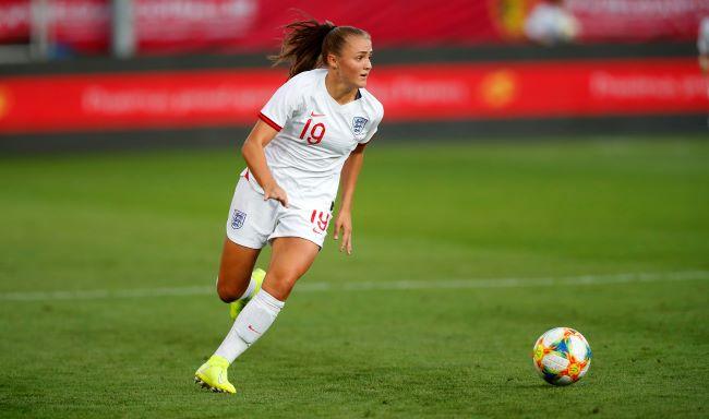 Georgia Stanway scored a screamer for England