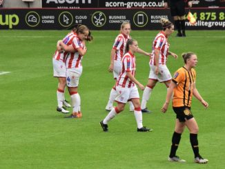 Stoke City won at the bet365 stadium