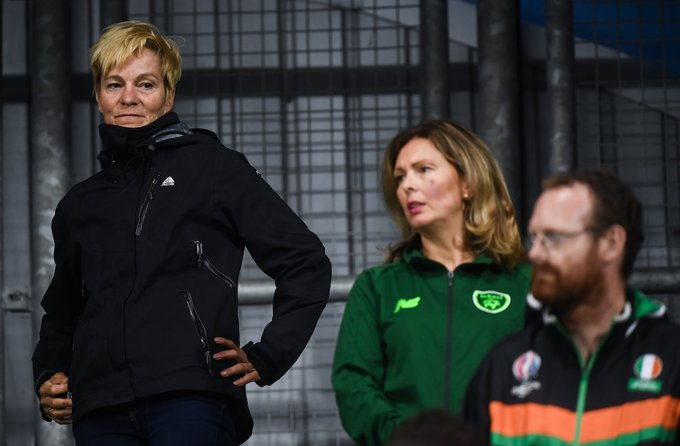 Republic Of Ireland's new manager, Vera Pauw