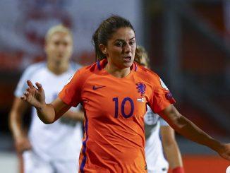 Danielle Van de Donk won her 100th Netherlands cap