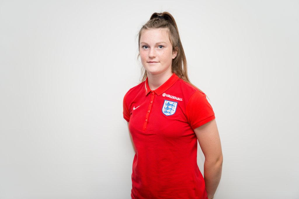 Ruby Mace got, England U-17's opener.