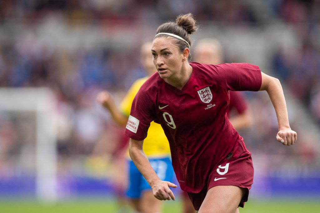 Jodie Taylor previews England v Germany