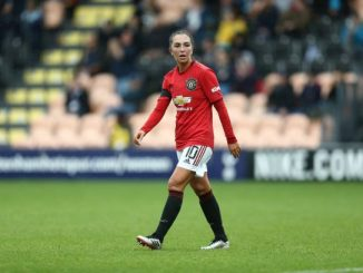 Katie Zelem's free-kick goal set up a Manchester derby win for United