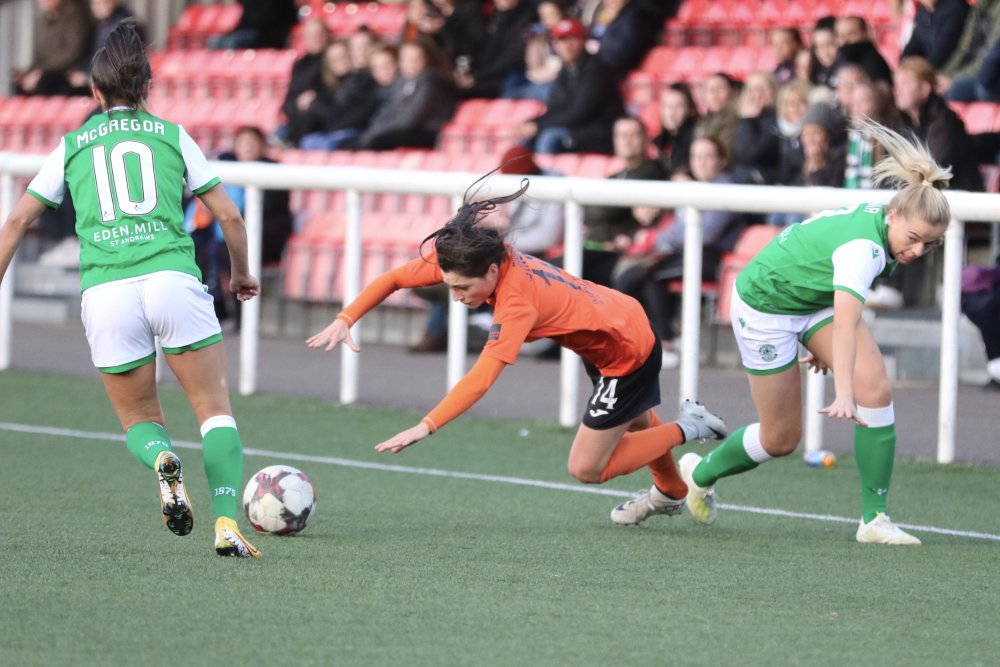 Glasgow City beat Hibs 3-1.
