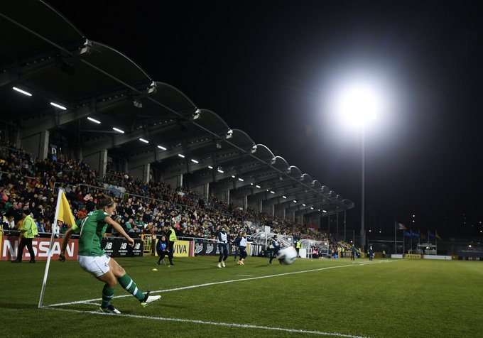 epublic of Ireland's record crowd