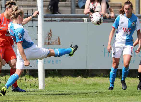 Ellie Stewart netted a penalty for Blackburn Rovers