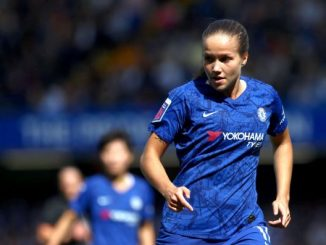 Guro Reiten, on the FAWSL POTM shortlist