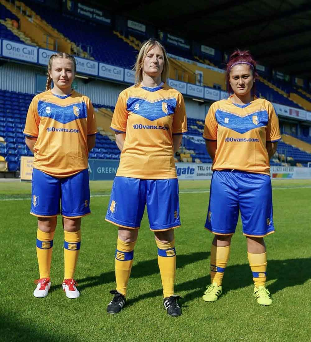 Masfield Town Ladies play at the OneCall Stadium