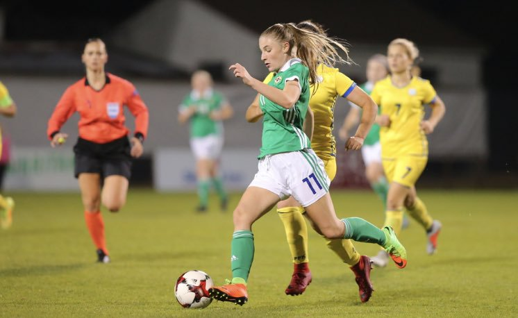 Alexandra Collighan scored Northern Ireland U-19s' opener
