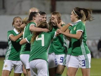 Jessica Rae got the winner for Northern Ireland U-19s