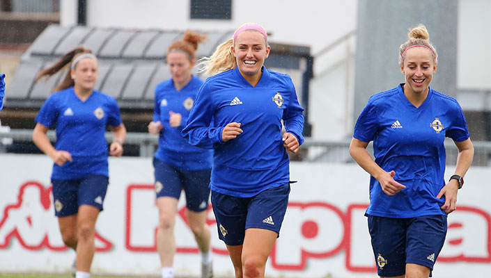 Northern Ireland training camp squad named