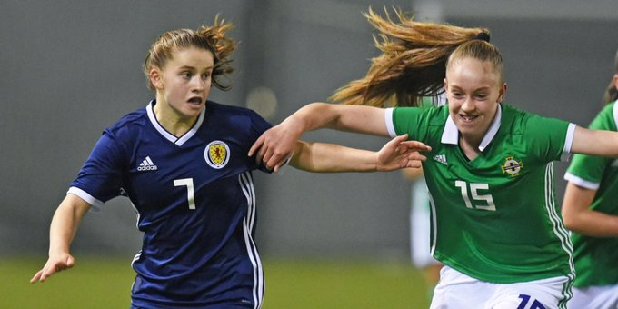 Scotland made a winning start in UEFA WU17 qualifierrs