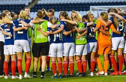 Scotland U-19s won their UEFA qualifying group