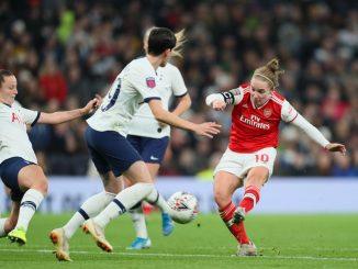 Arsenal won 2-0 at White Hart Lane