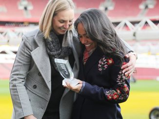 New National Football Museum Hall of Fame indutee, Alex Scott