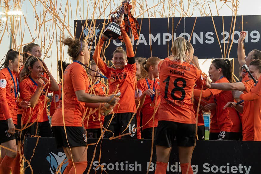 SWPL 1 winners, Glasgow City