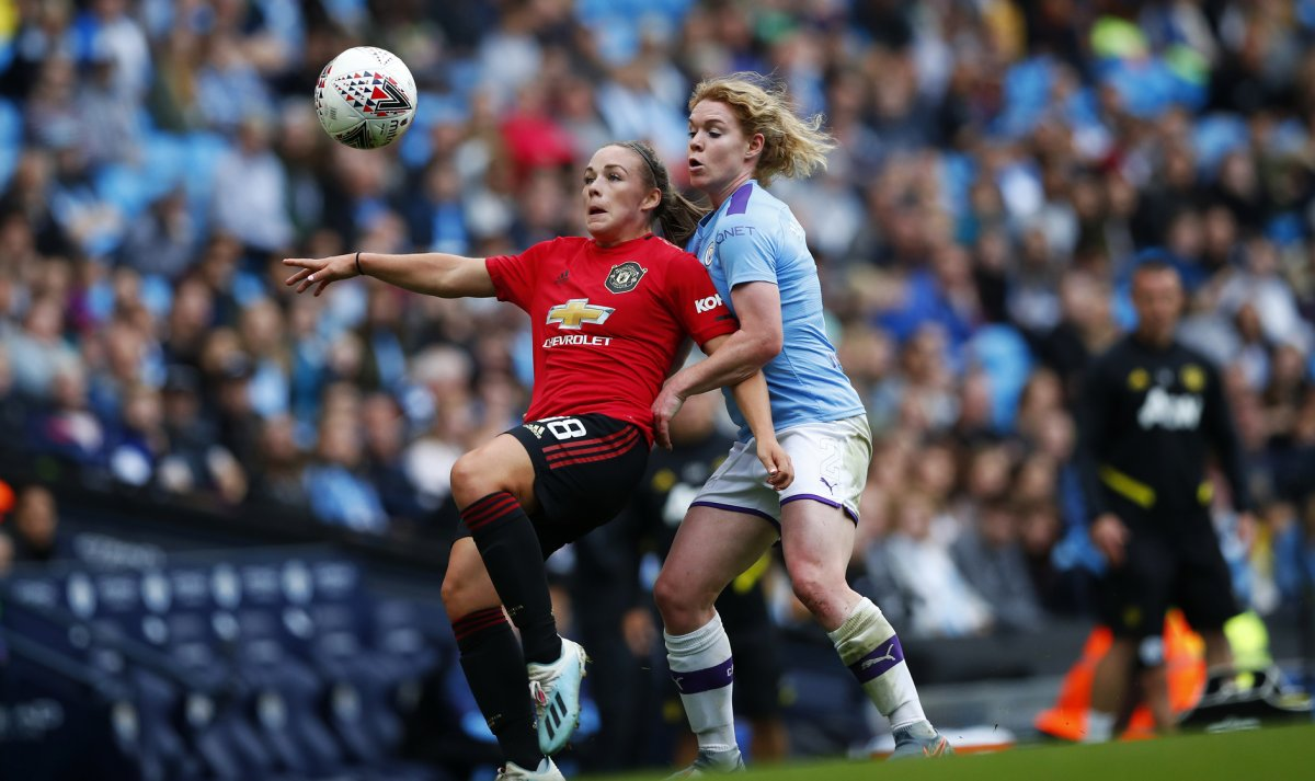Manchester United's Kirsty Hanson