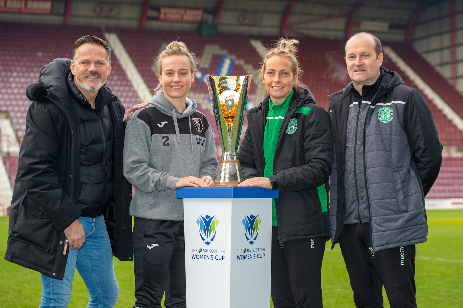 Scottish Women's Cup Final press conference
