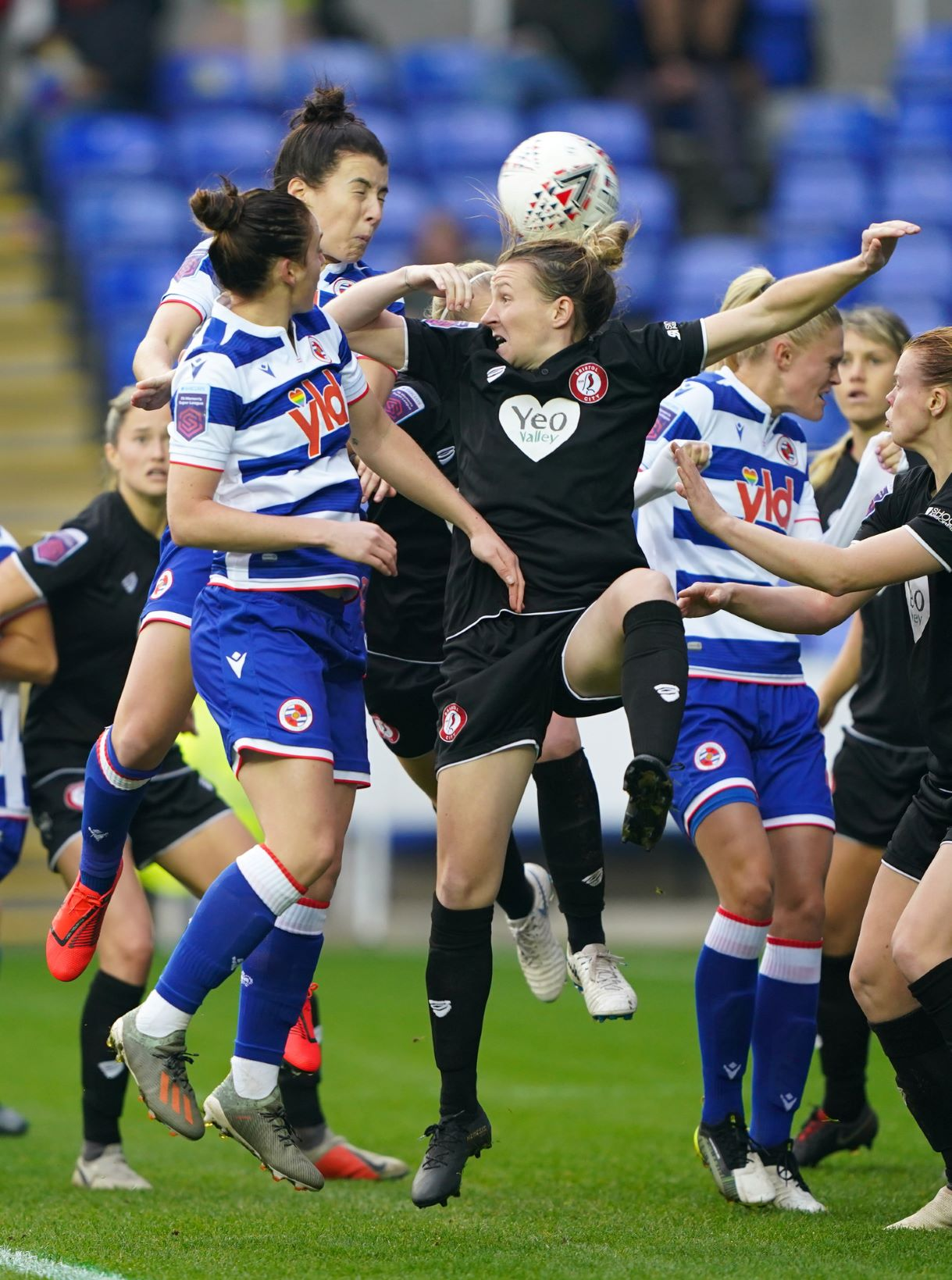 Reading were held 3-3 by Bristol City