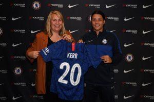 Sam Kerr signs for Chelsea