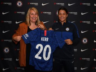 Sam Kerr signs for Chelsea