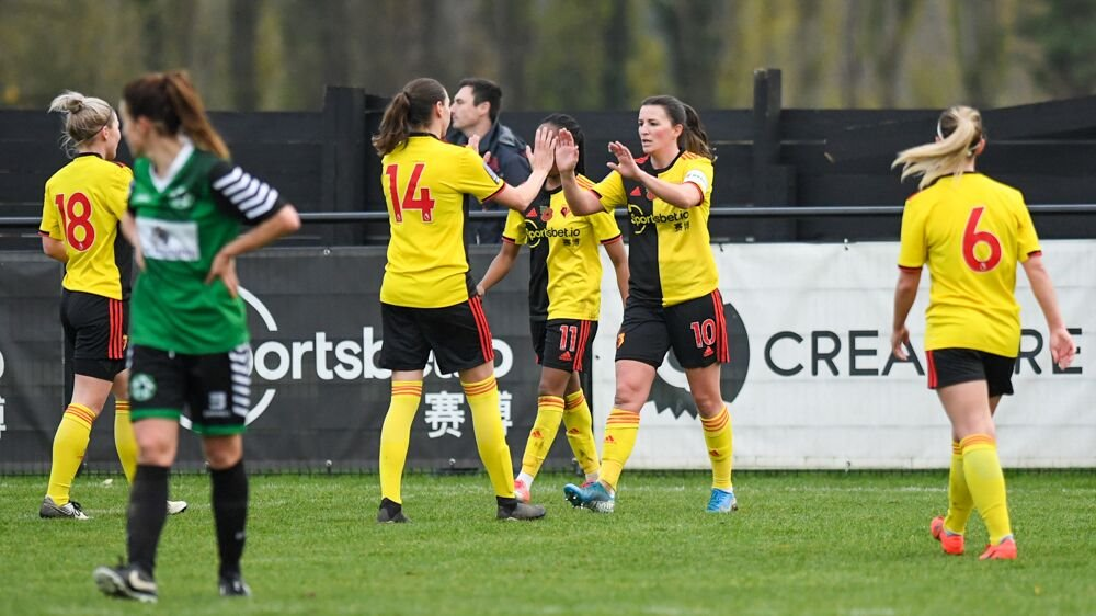 Watford go top of FAWNL Southern Premier