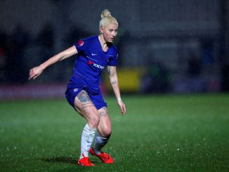 Beth England brace helps Chelsea progress