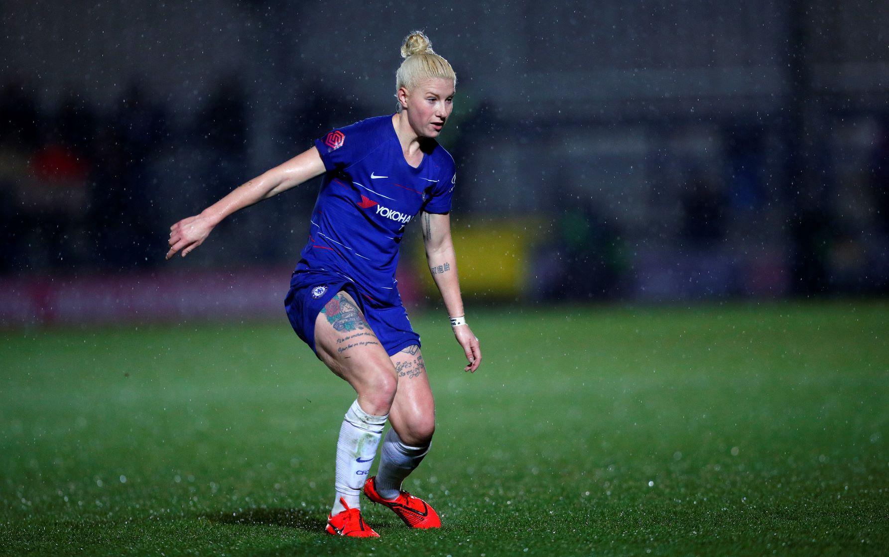 Beth England brace helps Chelsea progress