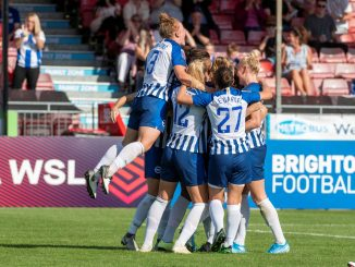 Brighton beat Arsenal in shoot-out