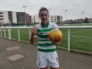 Celtic's three-goal Sarah Ewens